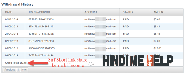 AdF.ly kya hai or Isse Income kaise hoti hai puri jaankari payment proof ke saath - Make Money