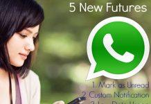 WhatsApp Ke 5 new future ki jaankari hindi me