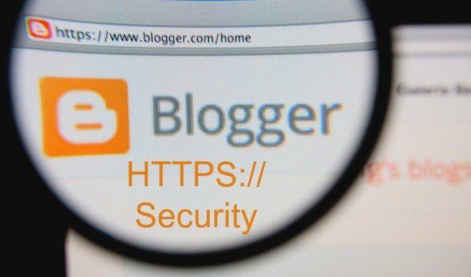 Blogspot Blog ki HTTPS Chalu karke Security badaye
