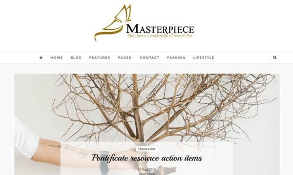 Masterpiece Responsive Blogger Template hindi me helkp