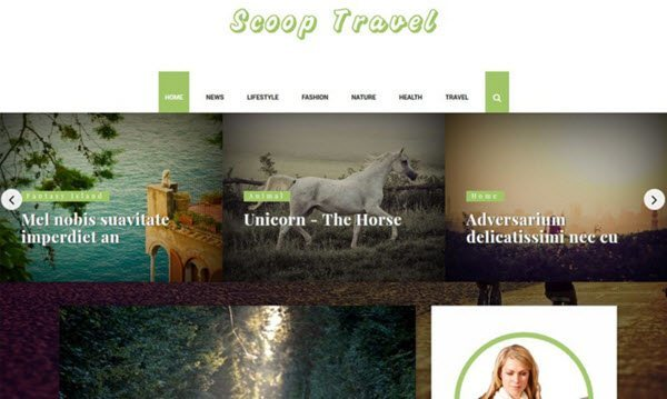 Scoop Multipurpose Blogger Template hindi me help