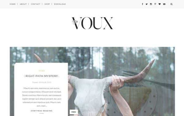 Voux Responsive Blogger Template hindi me help