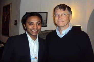 Suhas Gopinath Bill Gates ke sath