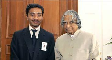 Suhas Gopinath Dr. A.P.J. Abdul Kalam ji kle sath