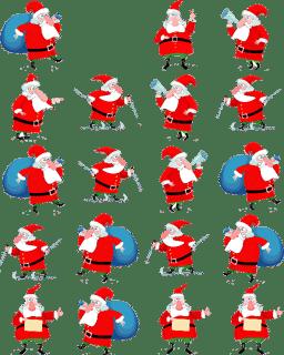 Udte Huee Santa Claus Widget 1