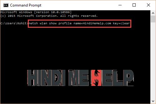 CMD open karke code dale or fir Enter ki button dabaye