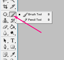 Color karne ke liye Brush tool ka bhi use kar sakte hai photoshop me