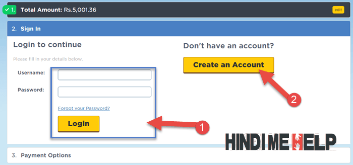 hostgator par new account banaye