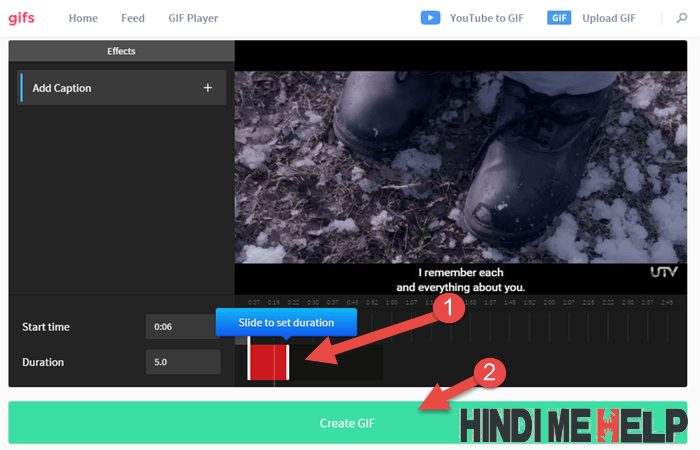 youtube video ki gif image banaye is website ki madad se