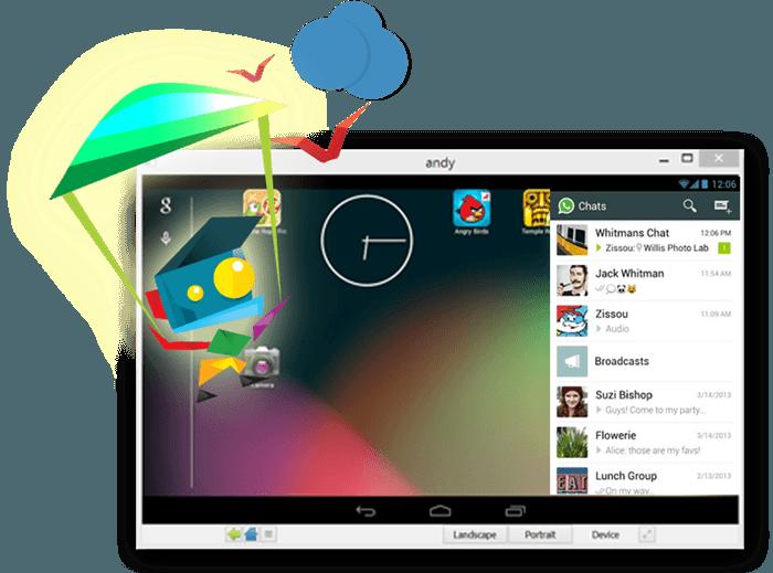 Andyroid software ki madad se Android app ko Pc me chalaye