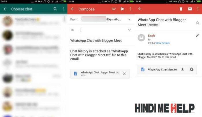 email par send karke whatsapp hack karne ka tarika
