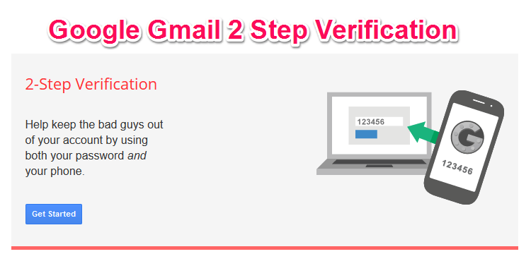 Google Gmail 2 Step Verification Enable kare Double Security ke liye