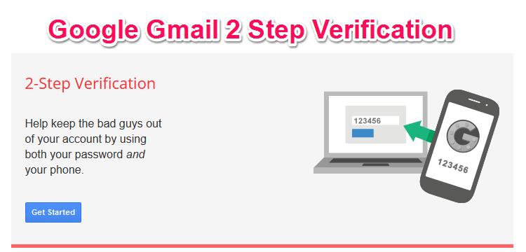 Google Gmail 2 Step Verification Enable kare Double Security ke liye