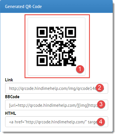 QR Code banne ke baad usko copy karle ya download karle