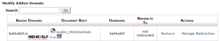 domain add hone ke baad kuch is trha dikhega