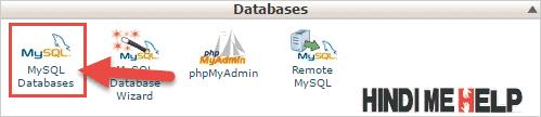 mysql database par click kare