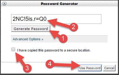 password generate karke text file me save karle