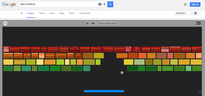 atari breakout game khele google search me uski jankari hindi me