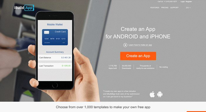 ibuildapp se android app banayi