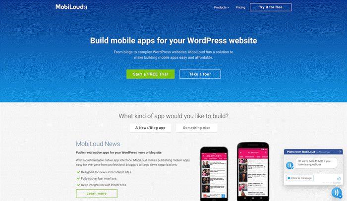 mobiloud se android app banaye