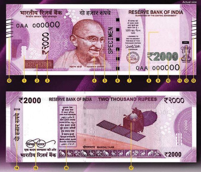 ₹2000 or ₹500 ke naye Note me kya kya Khusiya or Future hai or kaise Asli or Nakli ka Pata kare